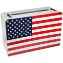 Geldbox USA, 24 x 16 cm