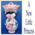 Geschenkballon, Geburt, Taufe, A New Little Princess