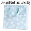 Baby Boy Geschenktäschchen, Geburt, Taufe, Babyparty
