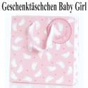 Baby Girl Geschenktäschchen, Geburt, Taufe, Babyparty
