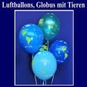 "Luftballons ""Globus mit Tieren"""