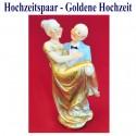 Hochzeitspaar, Hochzeitsdeko, Goldene Hochzeit 02