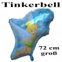 Luftballon Tinkerbell, Folienballon mit Ballongas