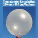 Riesenluftballon 600er Rund Transparent