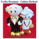 Brautpaar, Hochzeitsdeko, Goldene Hochzeit 04