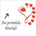 Grußkarte als Liebesbotschaft, Lovely Hearts