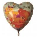 Luftballon Gute Besserung, Folienballon mit Ballongas, Simon Elvin Bärchen
