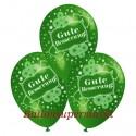 Gute Besserung, Motiv-Luftballons, Grün, 3 Stück