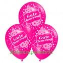 Gute Besserung, Motiv-Luftballons, Pink, 3 Stück