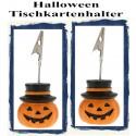 Tischkartenhalter, Halloween - Orange, 2 Stück
