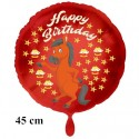 Happy Birthday Pferd Luftballon zum Kindergeburtstag mit Helium