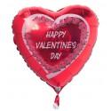 Happy Valentine's Day Luftballon zum Valentinstag mit Helium