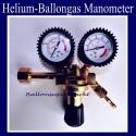 Ballongas-Manometer, Druckminderer, Auffüllventil für Heliumballons