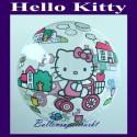 Hello Kitty, Bubble Luftballon (mit Helium)