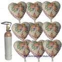 Wedding Wishes, Glückwünsche zur Hochzeit Midi-Set Folienballons