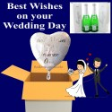 """Best Wishes on your Wedding Day"" MUMM"