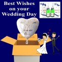 """Best Wishes on your Wedding Day"" MM"