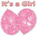 Luftballons It's a Girl