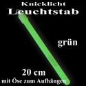 Knicklicht Leuchtstab, 20 cm, grün