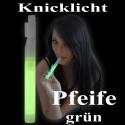 Knicklicht Pfeife, 15 cm, grün
