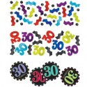 Celebrate 30 Konfetti, 3 Sorten Streudekoration, Partydekoration zum 30. Geburtstag