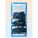 Happy Birthday Konfetti, blau, 3 Sorten Streudekoration, Partydekoration zum Geburtstag