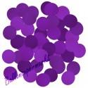 Konfetti Punkte, Violett, 2 cm, 15 Gramm
