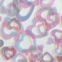 "Konfetti ""Shimmer Hearts"" Pearl"