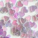 """Konfetti """"Sparkle Hearts"""" Pearl"""