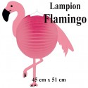 Formenlaterne-Lampion Flamingo