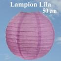 Lampion, 50 cm, Lila, XL