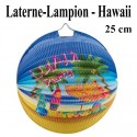 Laterne-Lampion Hawaii, 25 cm