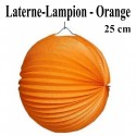 Laterne-Lampion Orange, 25 cm