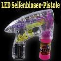 Seifenblasenpistole mit 4 LED's