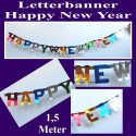 Silvester Buchstabengirlande Happy New Year