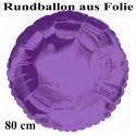 Rundballon Jumbo lila (ungefüllt)
