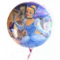 Luftballon Prinzessin Cinderella, Disney, Folienballon ohne Ballongas