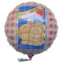 Happy Birthday, You are 18, Luftballon aus Folie, Geburtstagsballon zum 18. (ohne Helium)