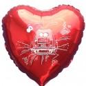 Hochzeitsballon aus Folie: Just Married Car