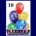 """Luftballons, Latexballons 10 Stück  """"30"""""""