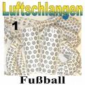 Fussball Luftschlangen, 1 Rolle, Jumbo