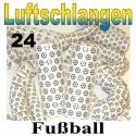 Fussball Luftschlangen, 24 Rollen, Jumbo