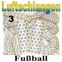 Fussball Luftschlangen, 3 Rollen, Jumbo