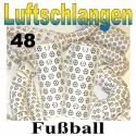 Fussball Luftschlangen, 48 Rollen, Jumbo
