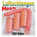 Luftschlangen Hearts 1000 Rollen
