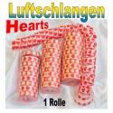 Luftschlangen Hearts 1 Rolle