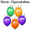 Marsi Figuren-Luftballon, 40 cm, Farbauswahl