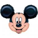 Luftballon Mickey Mouse, Folienballon ohne Ballongas