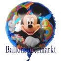 Micky Maus Luftballon aus Folie (ohne Helium-Ballongas)