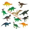 Dinosaurier Mini-Figuren, 8 Stück Give-aways, Mitgebsel zum Kindergeburtstag
